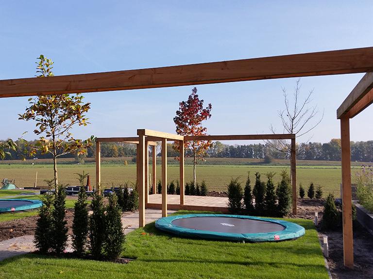 Moderne tuin – Westeraam Elst